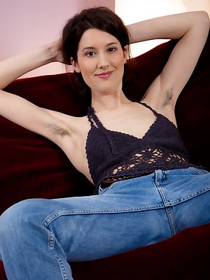 Kick back and relax on the lounge with sexy hairy goddess Tiffanny. Her tight body oozes sex appeal and her warm moist bush is so inviting you can almost feel it.