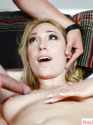 Sexy Lily LaBeau amazes with her extra tight pussy and ass