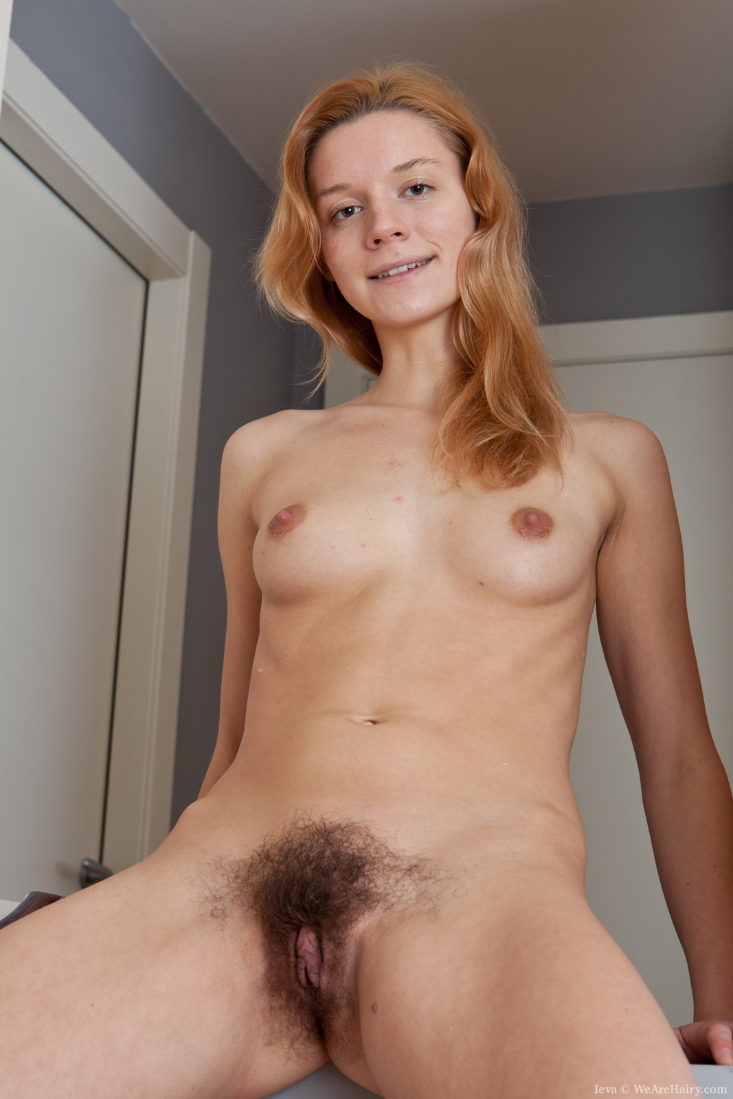 Amateur Teen Hairy Pussy Solo